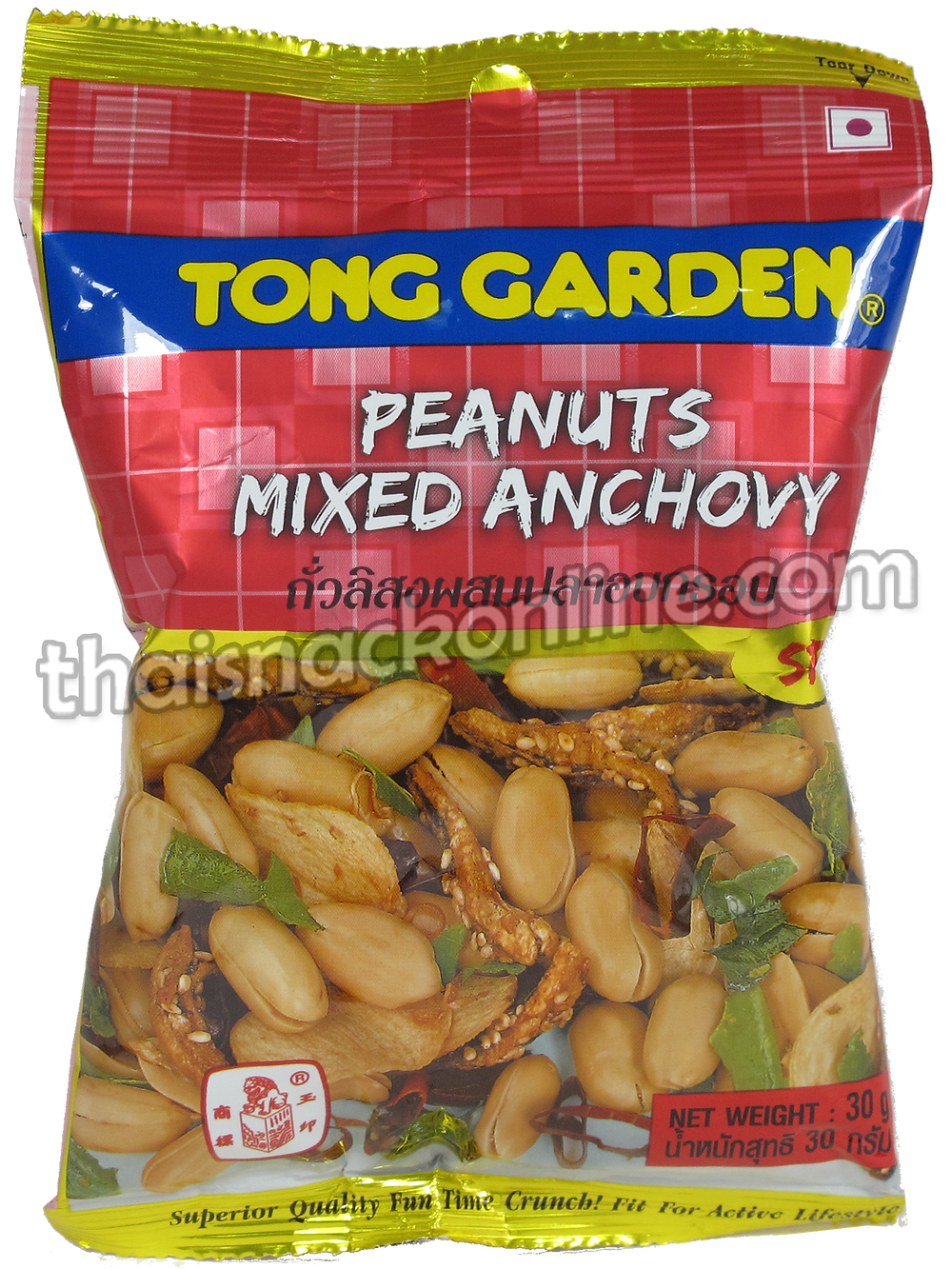 Tong Garden - Peanuts Mixed Anchovy Spicy (35g)