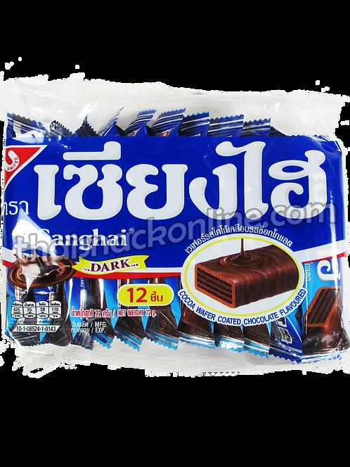 Sanghai - Wafers Cocoa Coated Chocolate (12x6g) (72g)