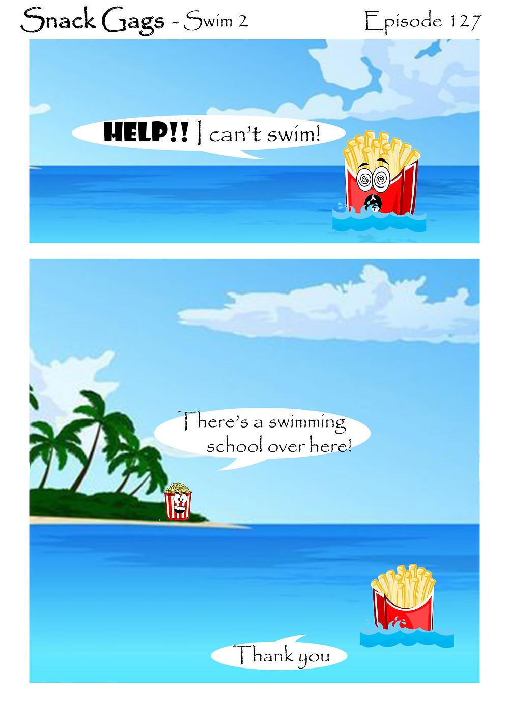 Snack Gags Ep.127 | Swim 2