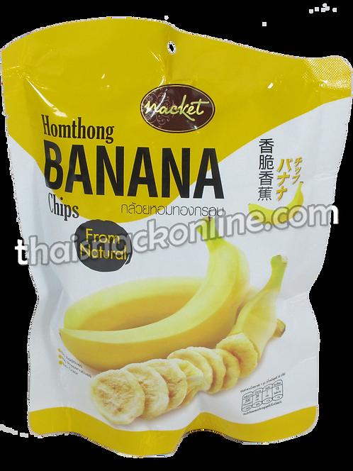 Nacket - Banana Chips Homthong (43g)