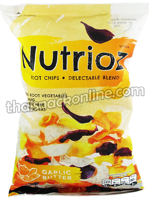 Nutrioz - Root Chips Garlic Butter (50g)