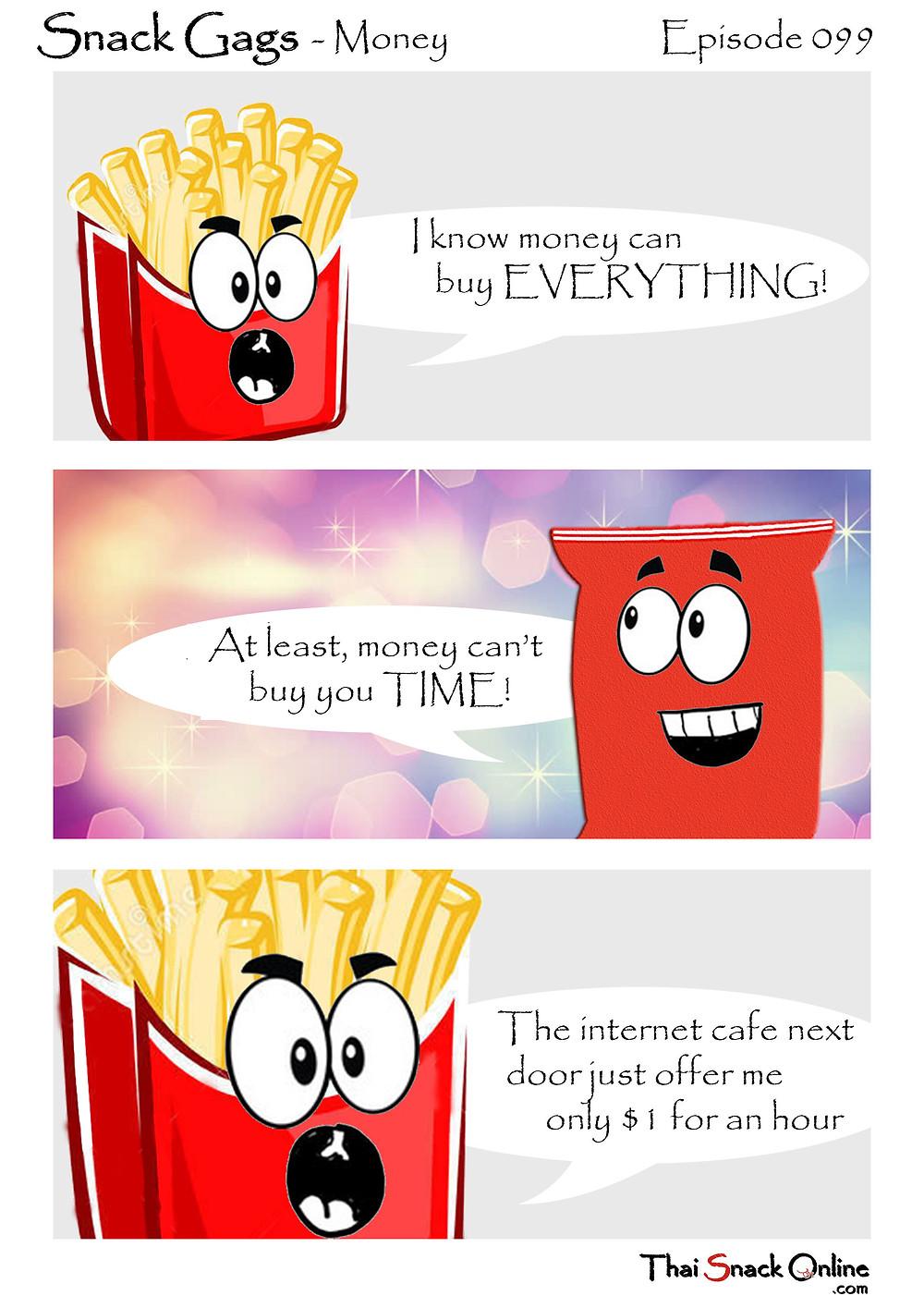 Snack Gags Ep.98 | Savings