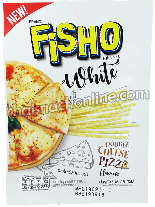 Fisho - Fish Double Cheese Pizza (25g)
