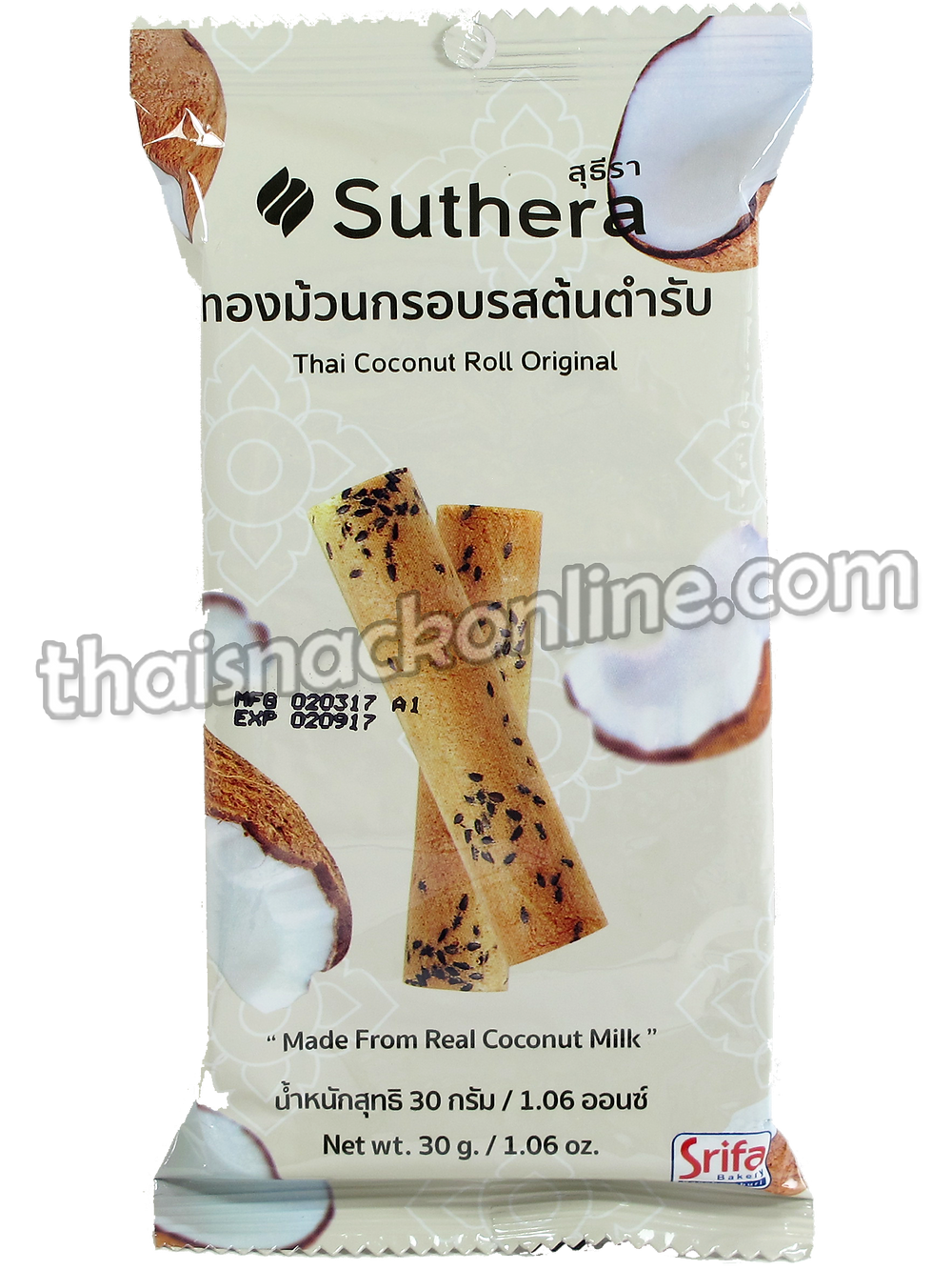 Suthera - Thai Coconut Roll Original