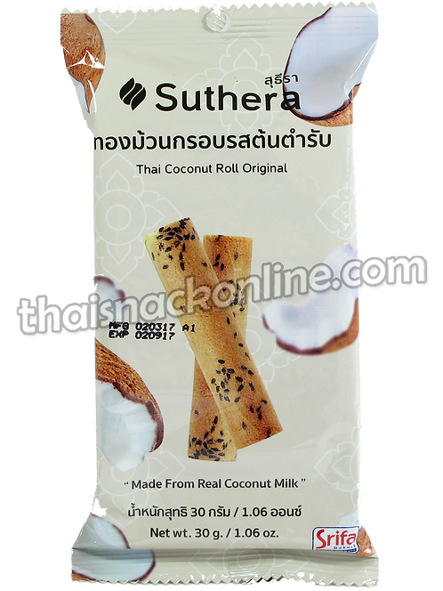 Suthera - Thai Coconut Roll Original (30g)