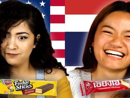 Americans & Thais Swap Snacks   BuzzFeed