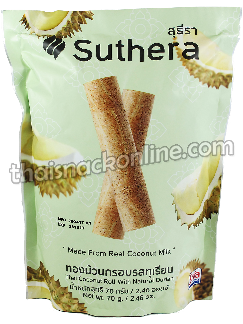 Suthera - Thai Coconut Roll with Durian