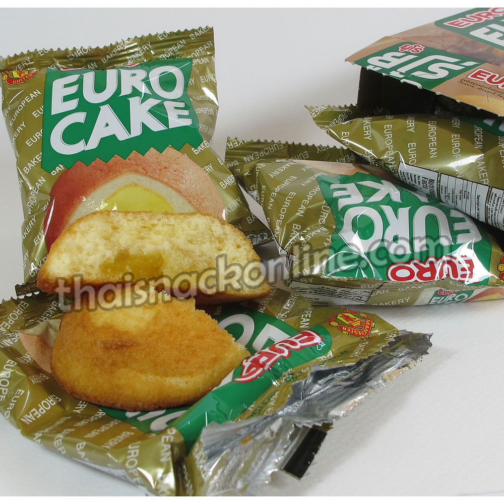 Euro - Puff Cake Custard Cream