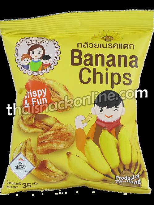 Mae Napa - Banana Chips (35g)