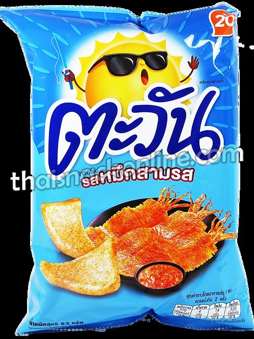 Tawan - Tapioca Chips Sweet & Sour Squid (62g)