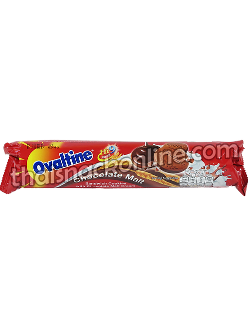 Ovaltine - Sanwich Cookies Chocolate Malt Cream (130g)