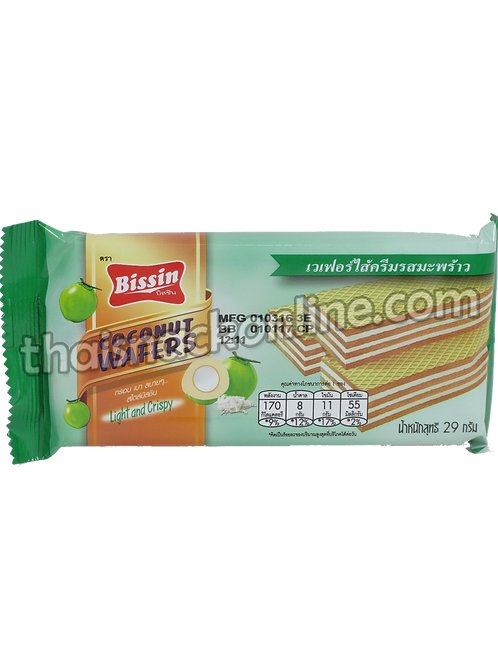 Bissin - Wafers Coconut (29g)