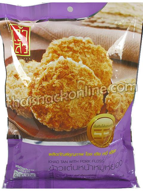 Chao Sua - Sticky Rice Cracker Pork Floss (90g)