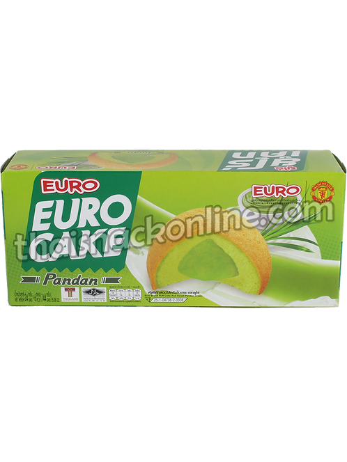 Euro - Puff Cake Sweet Pandan (6x24g)