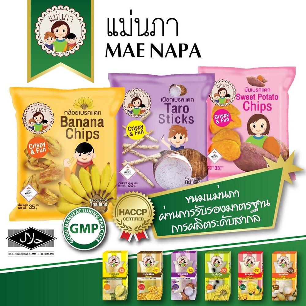 Mae Napa GMP, HACCP and Halal