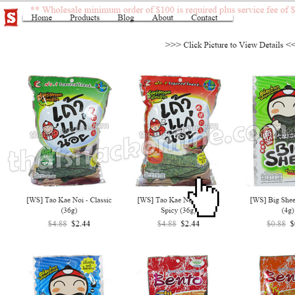 Thai Snack Online | Wholesale Benefits | Wholesaler & Dropshipper