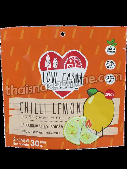 Love Farm - Dried Lemon with Chilli (30g)