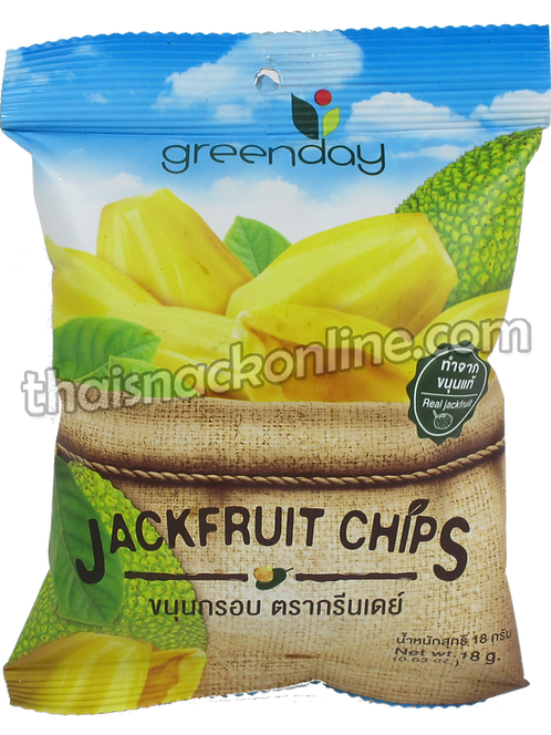 Greenday  - Jackfruit Chips (18g)