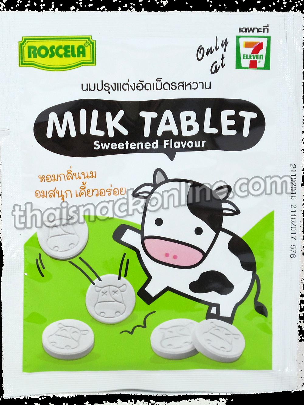 Roscela - Tablet Milk Sweetened