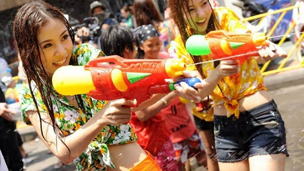 "biggest greatest 2-weeks long event called ""Songkran"" festival"