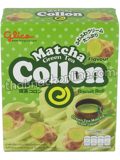 Collon - Biscuit Roll Green tea (46g)