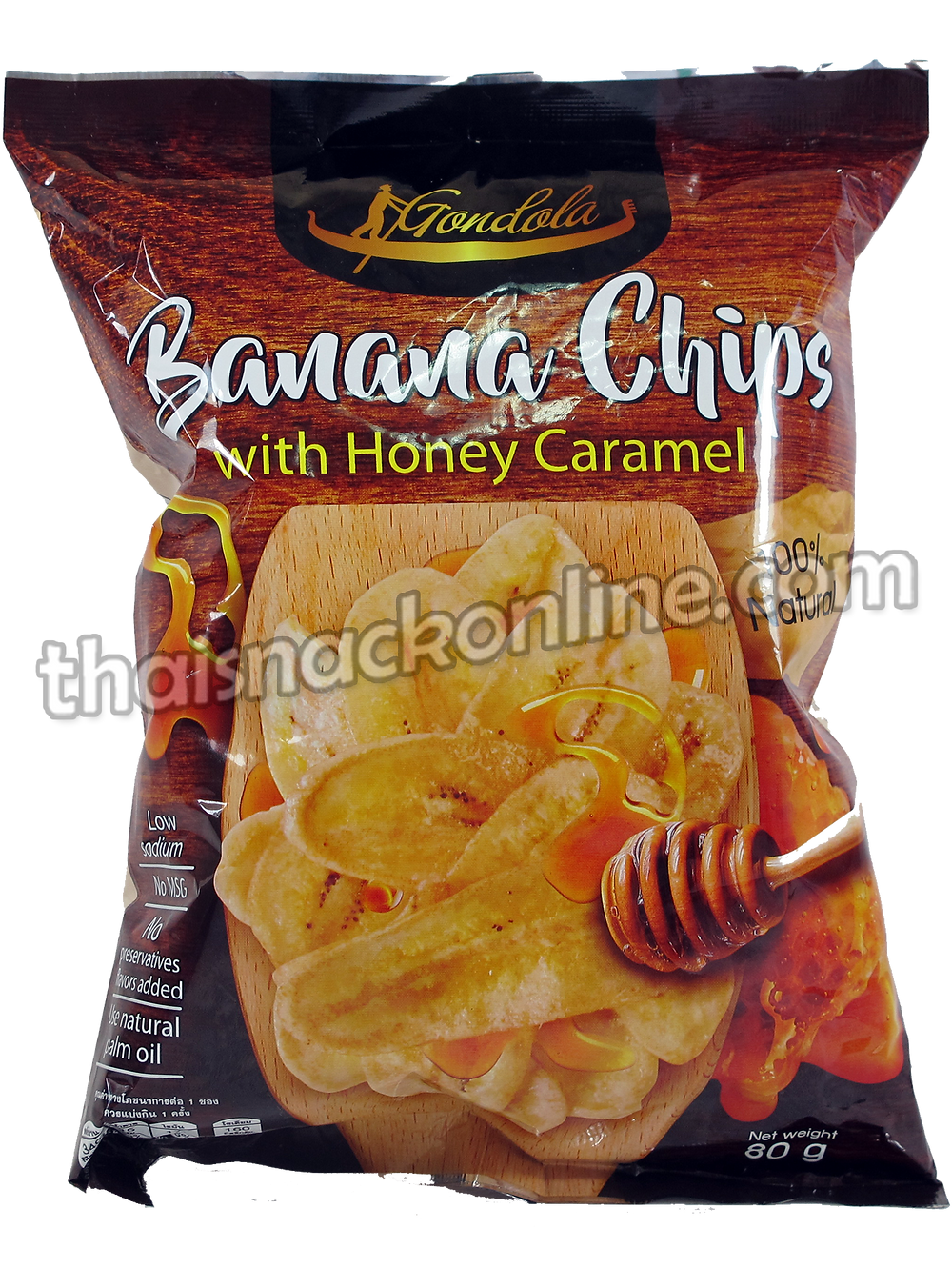 Gondola - Banana Chips Honey Caramel