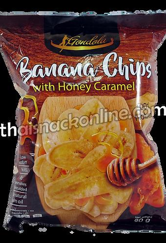 Gondola - Banana Chips Honey Caramel (80g)