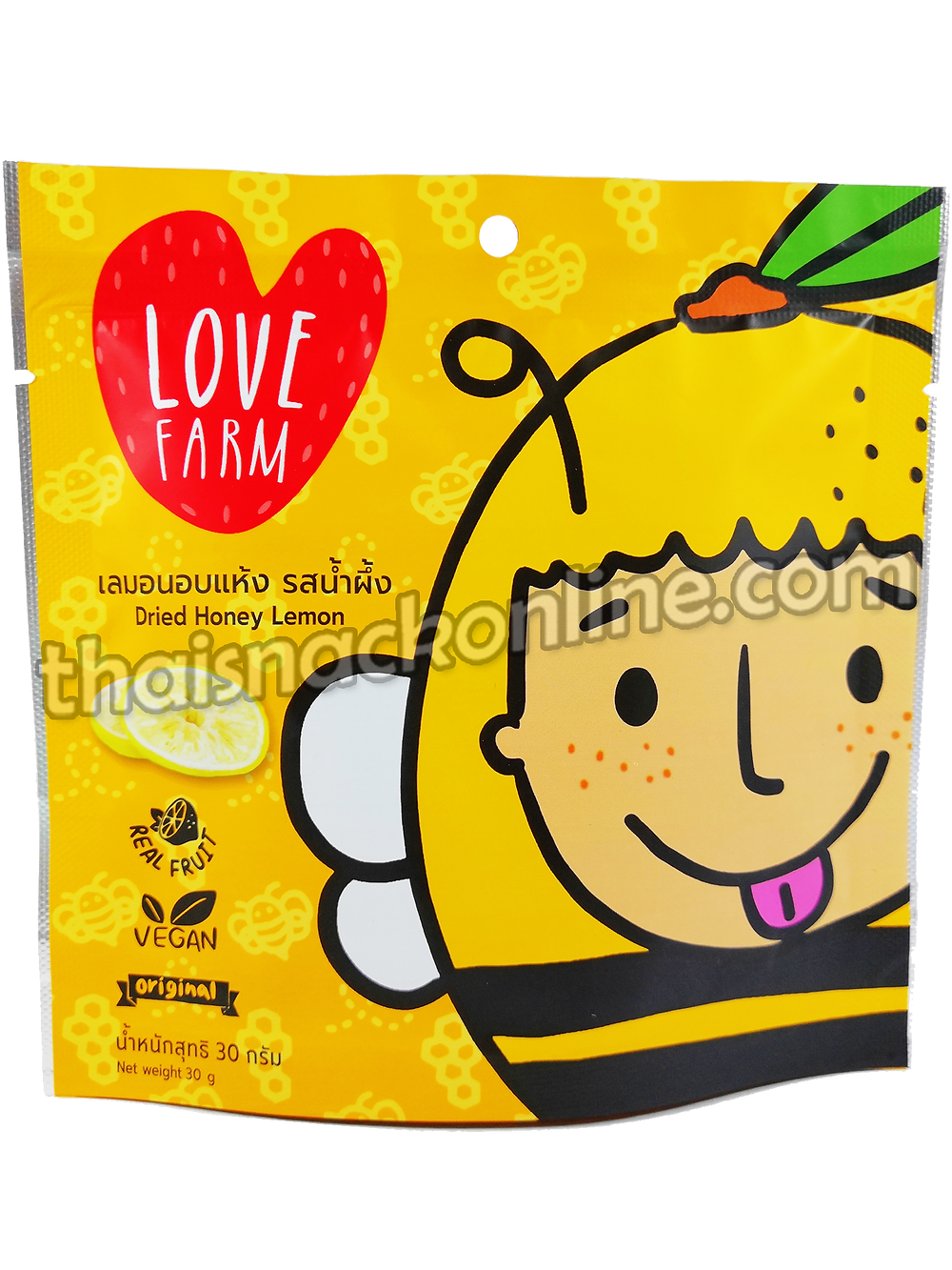 Love Farm - Dried Honey Lemon