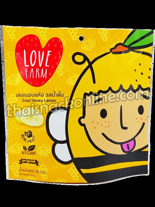 Love Farm - Dried Honey Lemon (30g)