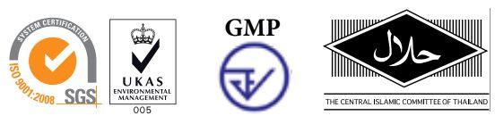 GMP, HACCP, ISO-9001:2008 UKAS and Halal
