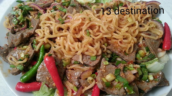 Larb Noodle