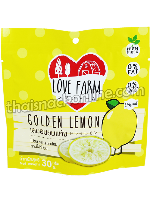 Love Farm - Dried Lemon (30g)