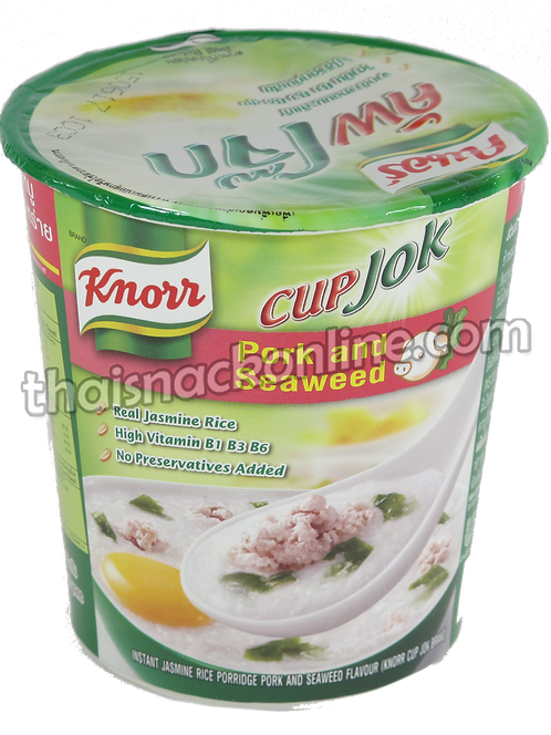 Knorr Cup - Congee Pork and Seaweed (35g)