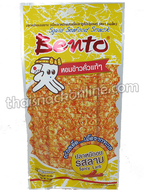 Bento - Squid Spicy Larb (20g)