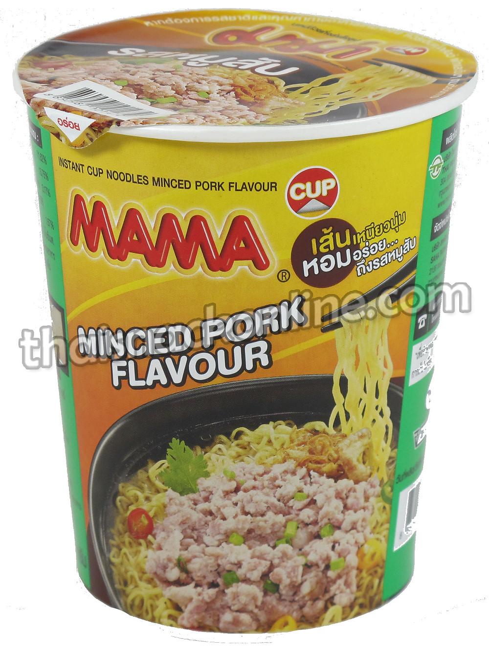 Mama Cup - Minced pork (60g)