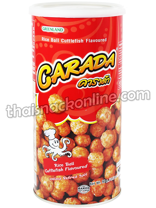 Carada - Rice Ball Cuttlefish in Can (90g)