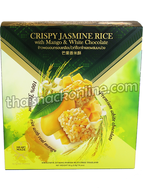 King Power - Crispy Jasmine Rice with Mango and White chocolate (16x6g)
