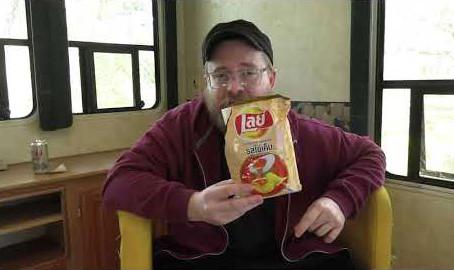 Salted Egg Potato Chips from Thailand | ChunnTV