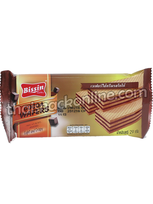 Bissin - Wafers Cocoa (29g)