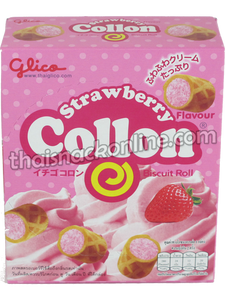 Collon - Biscuit Roll Strawberry