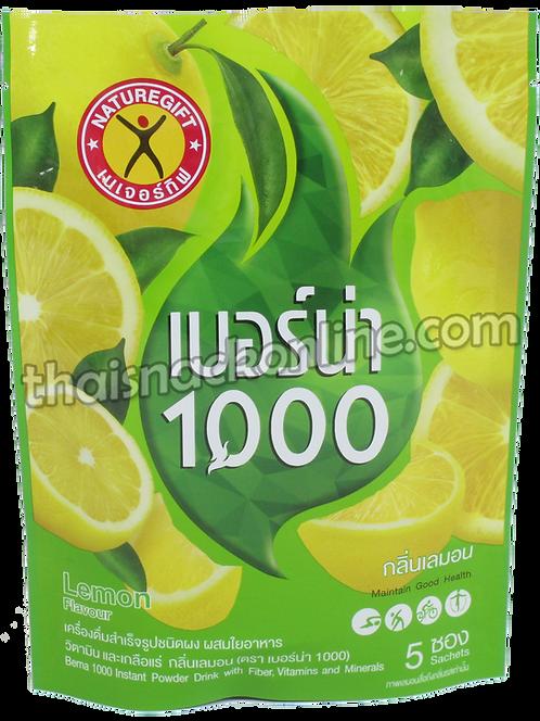 Berna 1000 - Powder Drink with Fiber Lemon (5x11. 5g)