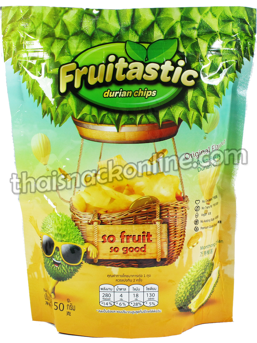Fruitastic - Durian Chips