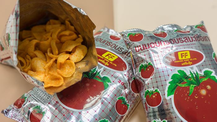 Fashion Food | Tomato and Paprika Chips