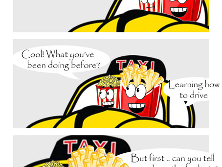 Snack Gags Ep.138   Taxi 4