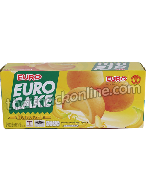 Euro - Puff Cake Sweet Banana (6x24g)