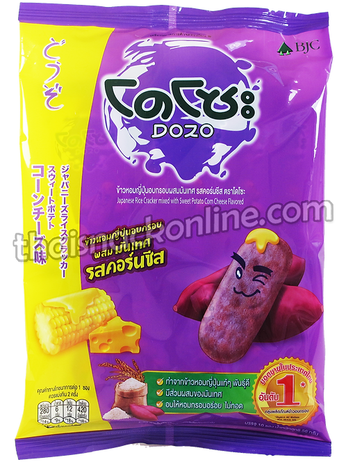 Dozo - Rice Cracker Sweet Potato Corn Cheese (56g)