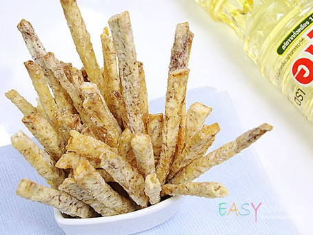 DIY Snacks | Taro Sticks