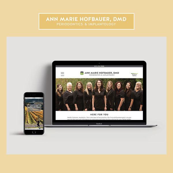 Hofbauer Periodontics Website
