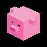 Cube-porc