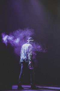 Rapper on Stage